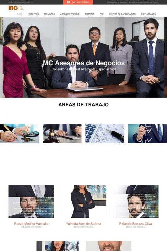 Web Medina Consultores SRL