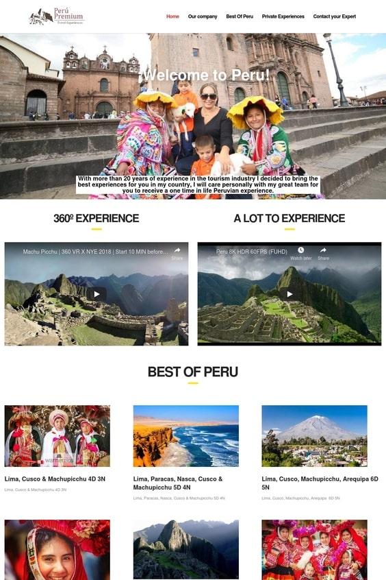 Web Perú Premium